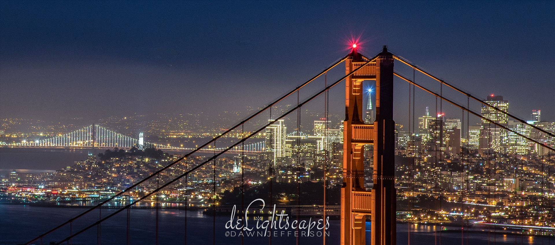 San Francisco Dressed for the Holidays -  by Dawn Jefferson