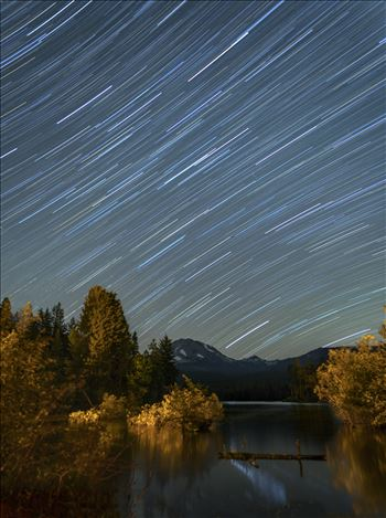 Preview of Star Trails in the Summer Sky