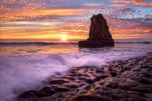 Sunset on the Rocks -