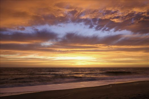 Pacific Ocean Sunset -