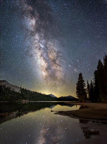 Night Sky - No sight is more provocative of awe than the night sky. - Llwewlyn Powys