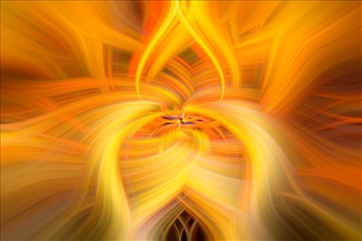 "Twirled - A landscape image ""twirled"" in photoshop to create an abstract image"